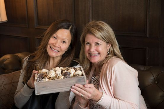 Chef Katie Chin and Margaret McSweeney from KitchenChat